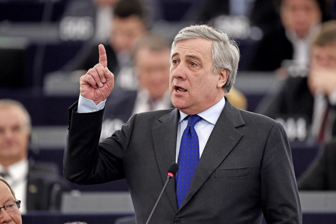 Tajani, io candidato premier? Sto bene dove sto