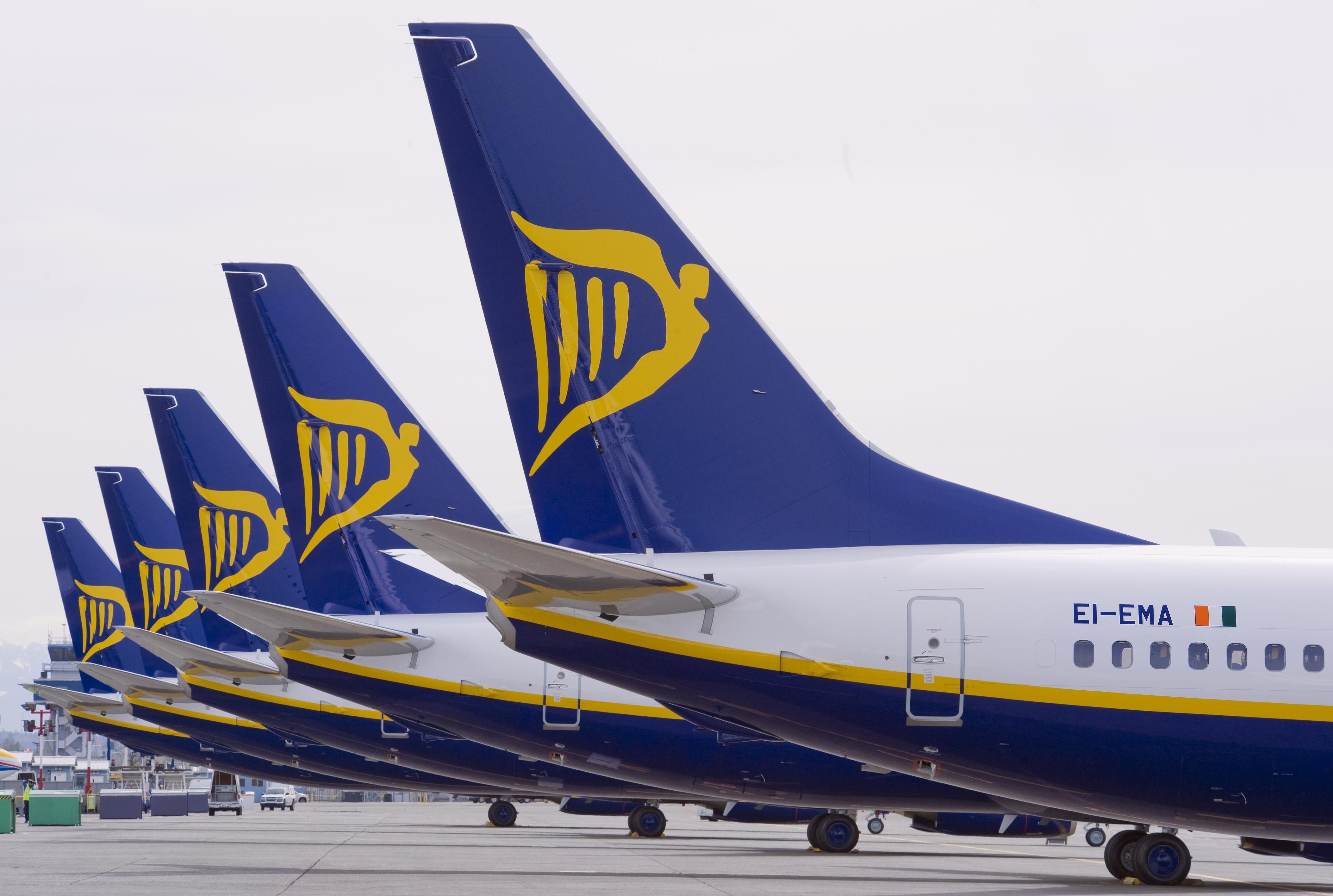 Ryanair da marzo torna a crescere