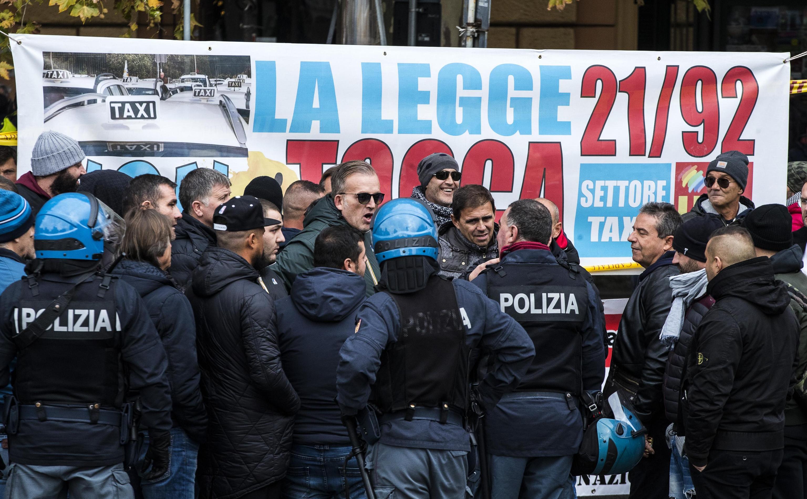 Contro Uber e NccDisagi in tutta Italia