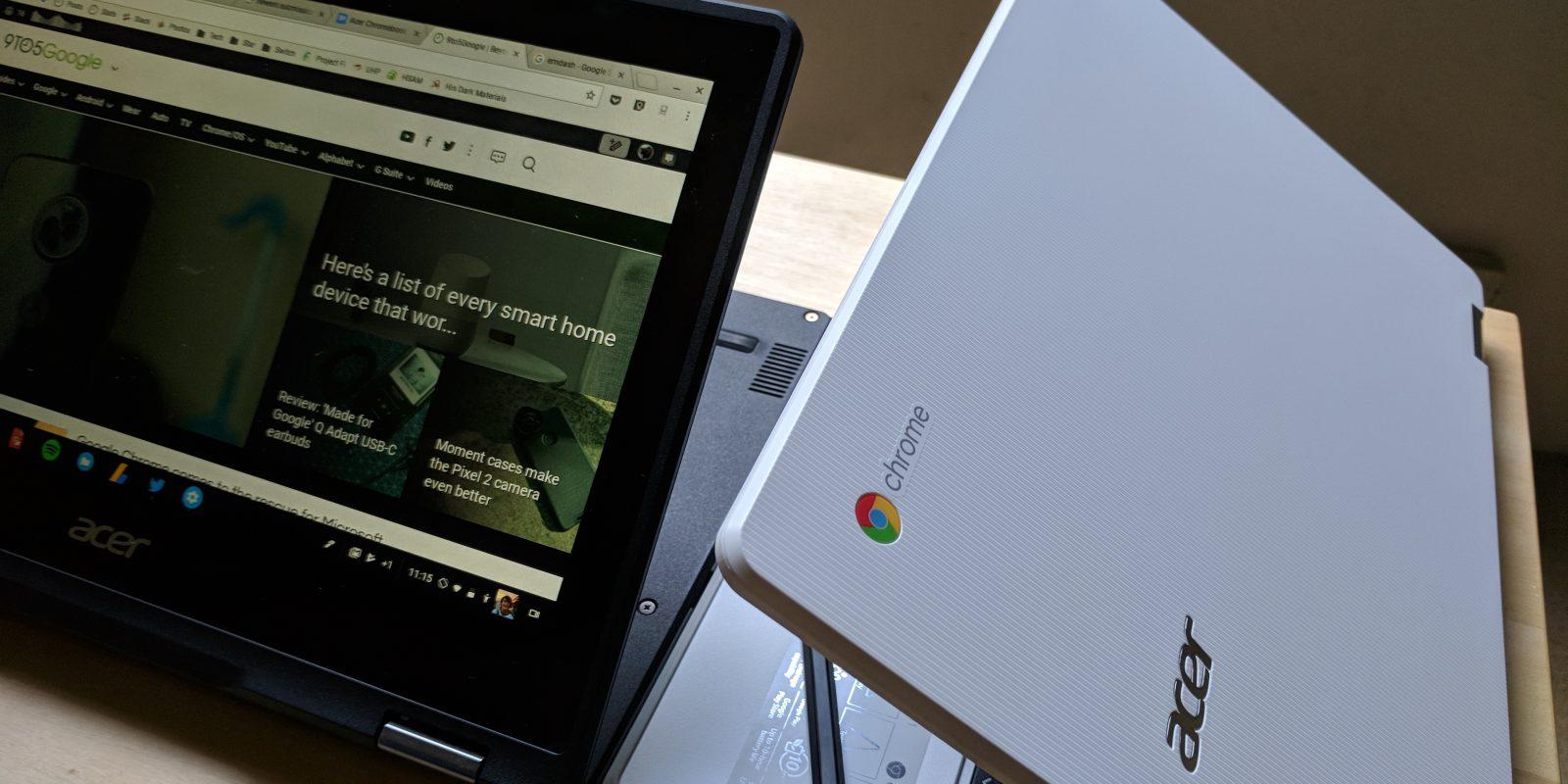 Portatile Chromebook Acer 13 pollici, funzionalità touch efficace ed avvio rapido