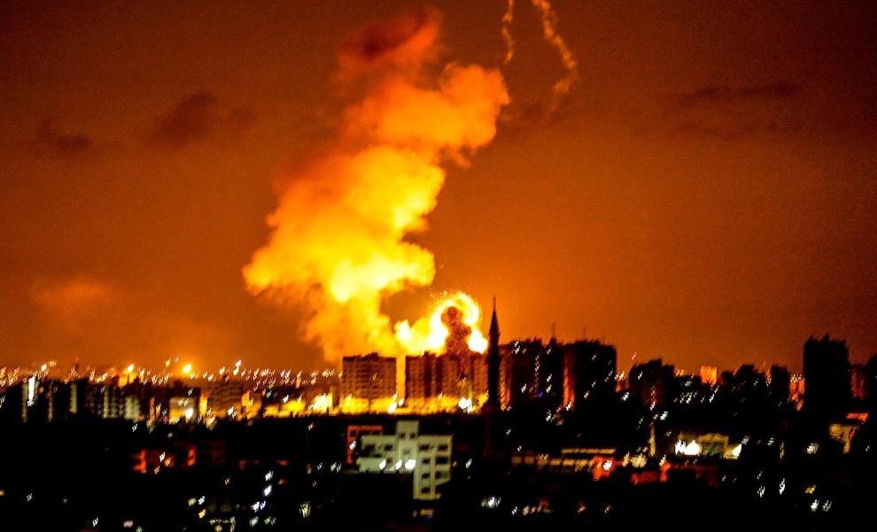 Gaza: raid di Israele su lanciatori di aquiloni incendiari