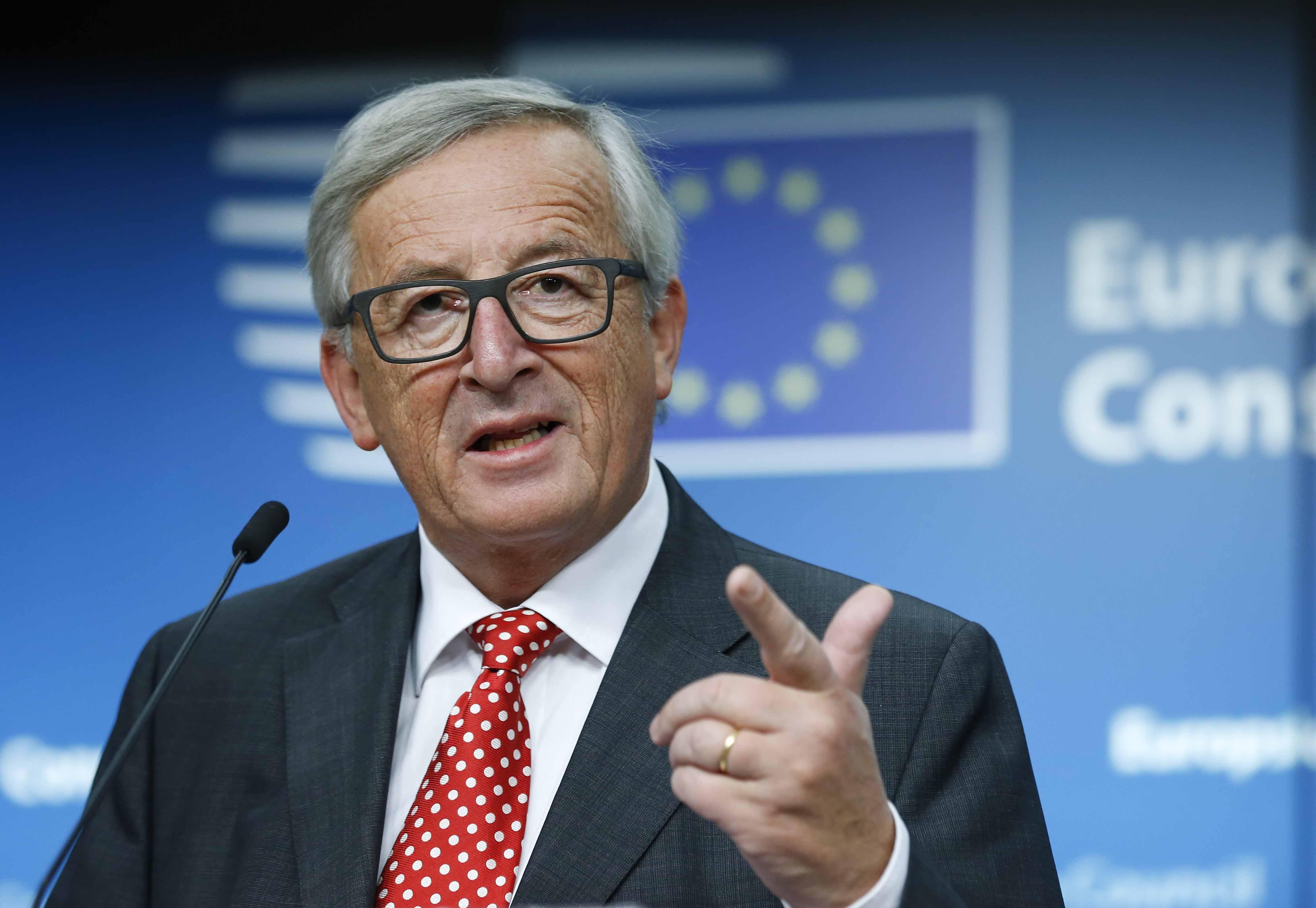 Juncker all'Italia: