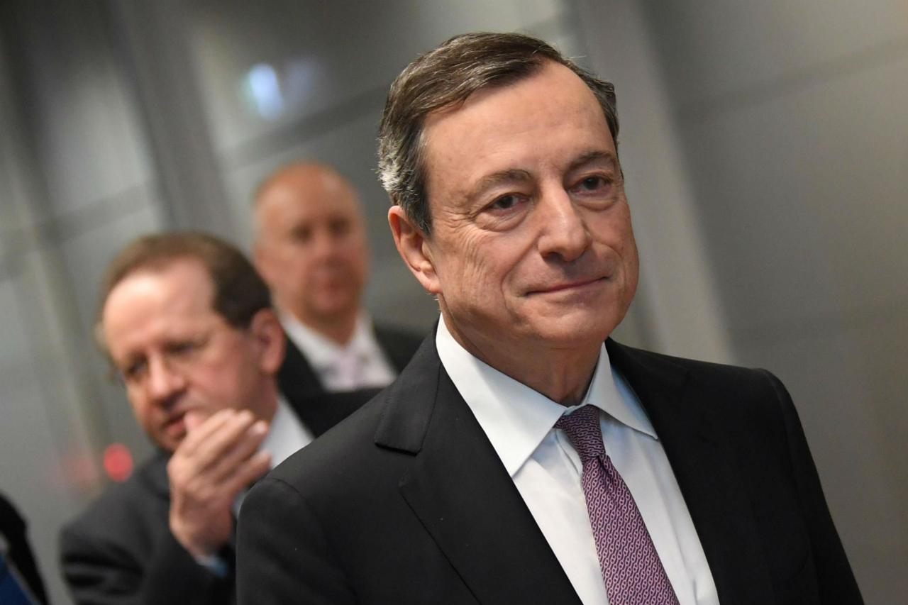 Bce. Draghi. I Paesi ad alto debito non devono aumentarlo