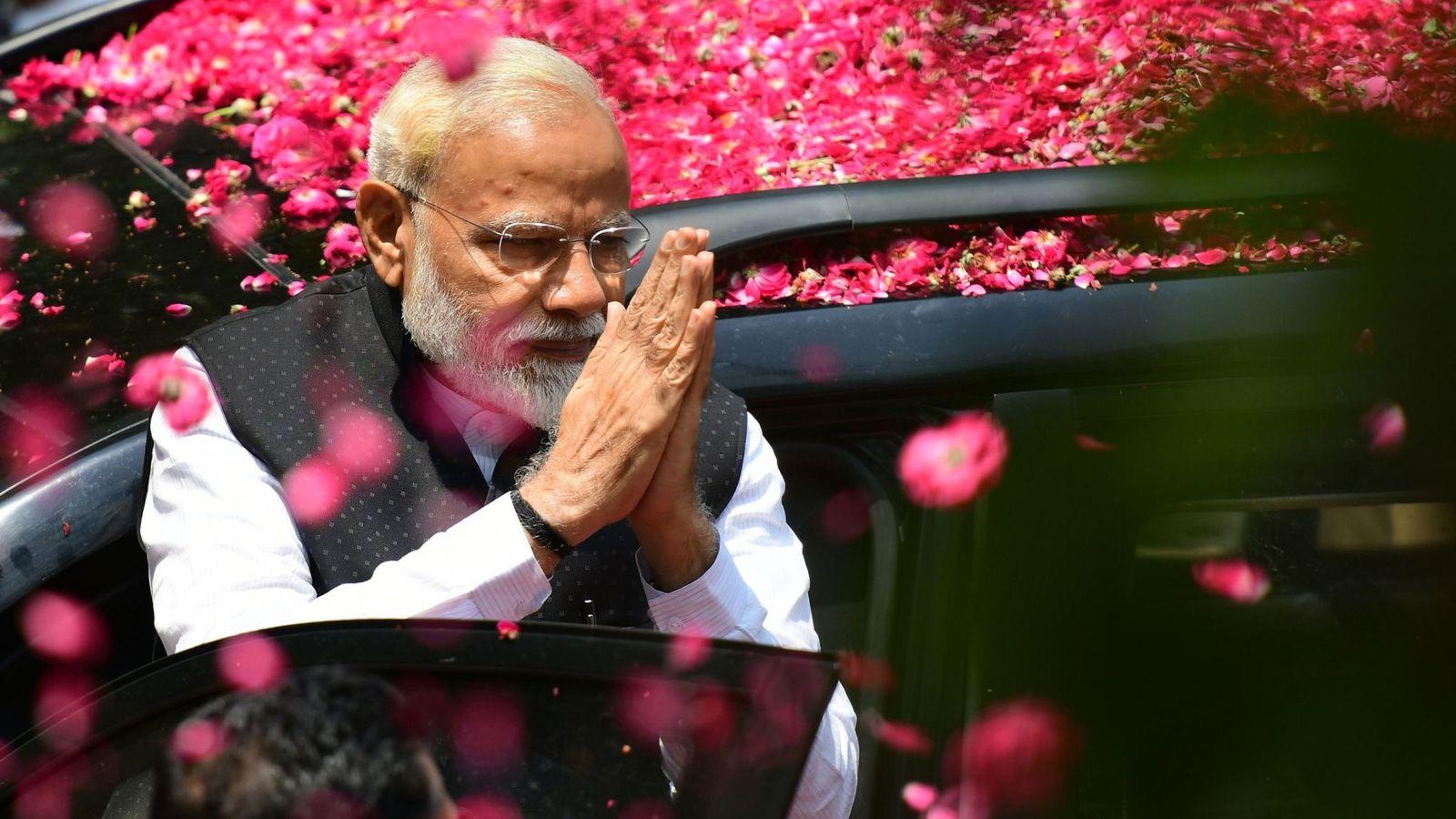 Rahul Gandhi riconosce la vittoria di Modi