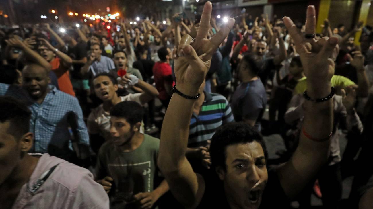 Egitto, manifestazioni contro il presidente Al Sisi in piazza Tahrir