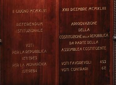 La Costituzione stabilisce la preminenza della volontà degli italiani